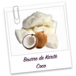 Beurre de karité au coco