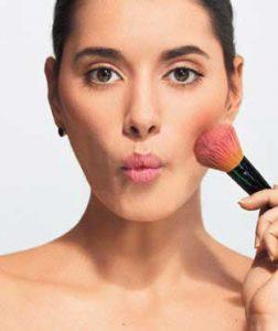 Blush pour maquillage