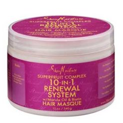SHEA MOISTURE Superfruit 10 in 1 Renewal System Hair Masque (340g)