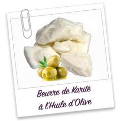 Beurre de Karité à l'huile d'Olive