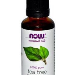 Huile essentielle d'arbre à thé ou tea tree