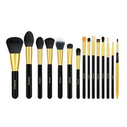 SUNNICY kit de 15 Pinceaux maquillage Professionnel