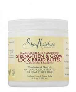 SHEA MOISTURE JBCO Strengthen & Grow Loc & Braid Butter