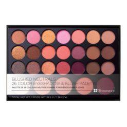 BH Cosmetics Blushed Neutrals Palette - 26 Couleurs Blush fards à paupières