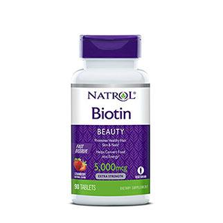 Natrol biotin beauty fast disolve