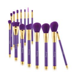 SUNNICY Kit de 15 pinceaux purple