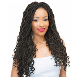Goddess Dreadlocks Loose Wave Crochet Braids