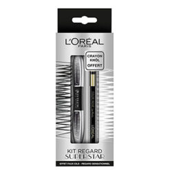 L'OREAL Coffret Mascara Superstar & Liner Gel Crayon