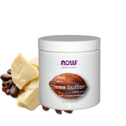 NOW 100% pure beurre de cacao