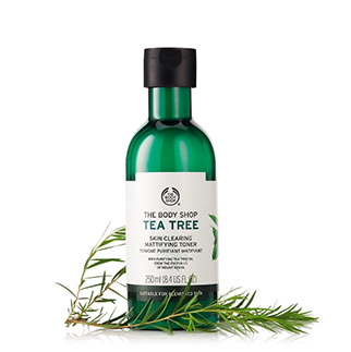 THE BODY SHOP Tonique Matifiant et Purifiant Arbre à thé