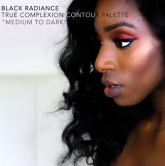 BLACK RADIANCE True Complexion contour palette rendu