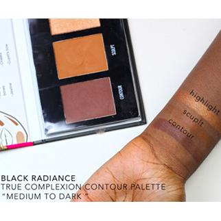 BLACK RADIANCE True Complexion contour palette swatch