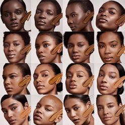 Fenty Black people swatch