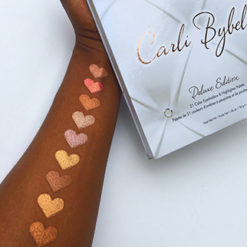 BH COSMETICS Carli Bybel Deluxe Edition palette swatch