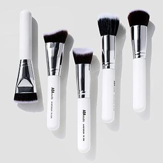 AOA kit de 10 pinceaux Sculpting blanc +rangement