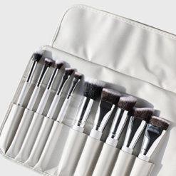 AOA kit de 10 pinceaux Sculpting blanc +rangement on pocket