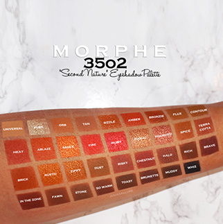MORPHE 35O2 Second-Nature palette swatch