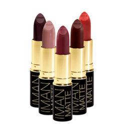 IMAN Rouge à lèvre de luxe matte