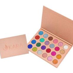 KARA Galaxy Stardust Glitter 24 couleurs palette
