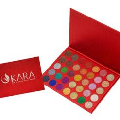 KARA Galaxy Stardust Glitter 35 couleurs palette