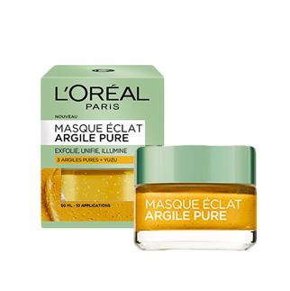 L'OREAL Masque Eclat 3 Argiles Pures & Yuzu (50ml)