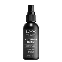NYX spray fixateur matte de maquillage longue tenue