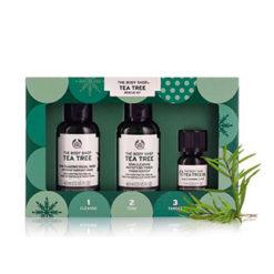 THE BODY SHOP Tea tree 123 kit Special Noel