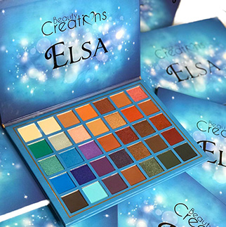 BEAUTY CREATIONS Elsa palette