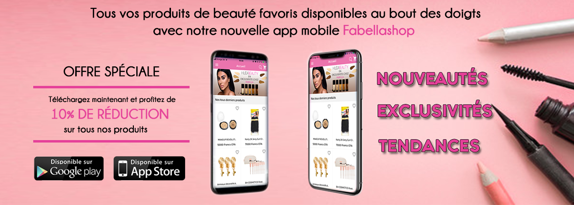 Application mobile fabellashop android & ios