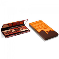 MAKEUP REVOLUTION I Heart Makeup Chocolate Orange Palette open