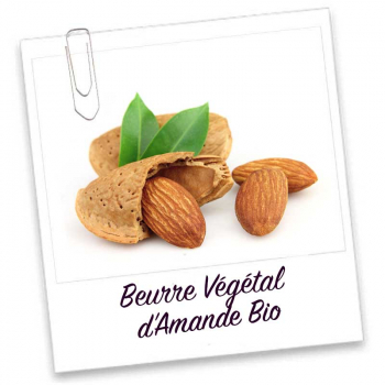 Beurre Vegetal d'Amande Bio