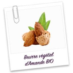 Beurre végétal d'amande bio