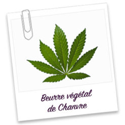 Beurre vegetal de chanvre