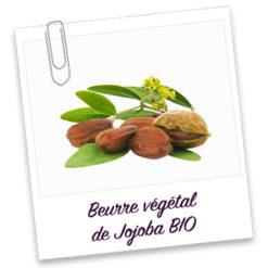 Beurre vegetal de jojoba bio extra vierge
