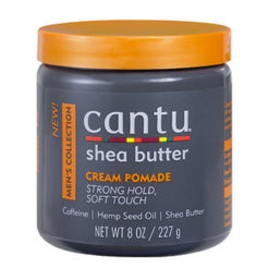 CANTU MEN'S Cream Pomade Crème coiffante bouclante fixation naturelle