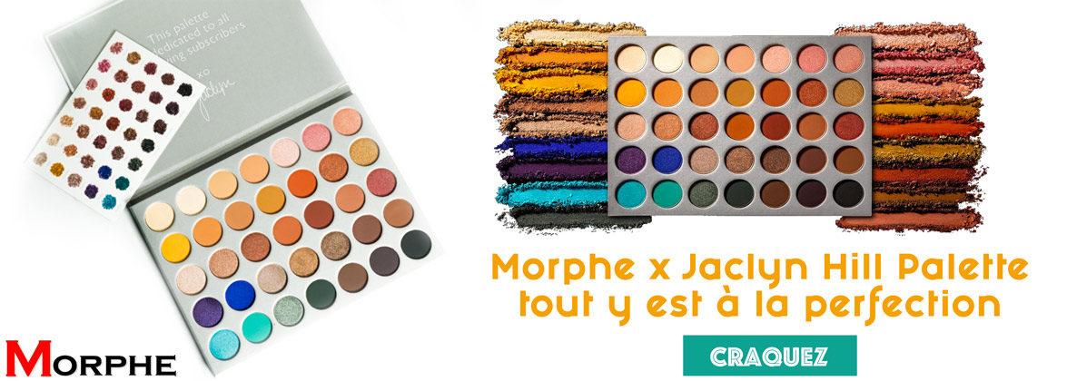 Morphe x Jaclyn Hill Palette tout y est à la perfection