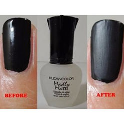 KLEANCOLOR Madly Matte vernis de finition matifiant test