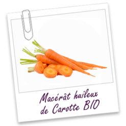 macerat huileux de carote bio