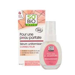 SO'BIO ETIC Sérum Correcteur Bio Unifiant pour une Peau Parfaite