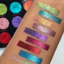 Revolution Abracadabra Glitter Palette swatch
