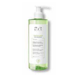 SVR Sebiaclear gel moussant nettoyant désincrustant sans savon