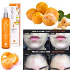 Andalou Naturals Clementine + Vitamine C Tonique illuminant