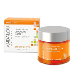 Andalou Naturals Pumpkin Honey Masque glycolique éclaircissant
