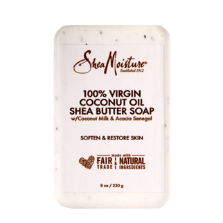 SHEA MOISTURE 100% Extra Virgin Coconut Oil Shea Butter savon