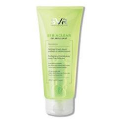 SVR Sebiaclear gel moussant nettoyant désincrustant sans savon tube