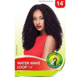 "X-PRESSION Water Wave Loop Crochet Braid 14"""