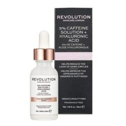 REVOLUTION Solution de Caffeine 5%+ Acide Hyaluronique
