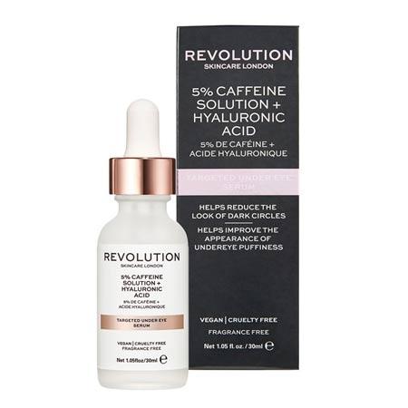 REVOLUTION Solution de Caffeine 5%+ Acide Hyaluronique