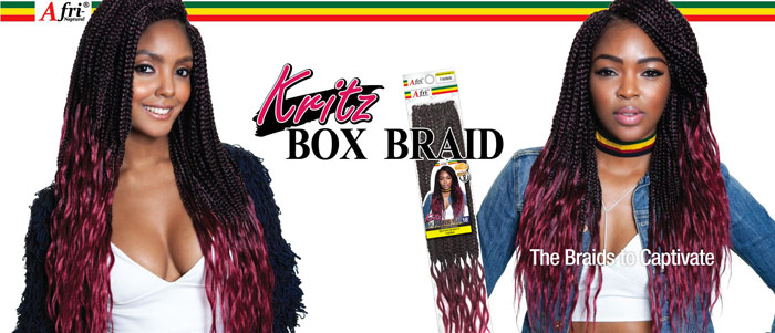 Afri-Naptural Kritz Box Braid 18""