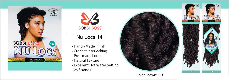 "Bobbi Boss Nu Locs 14"""